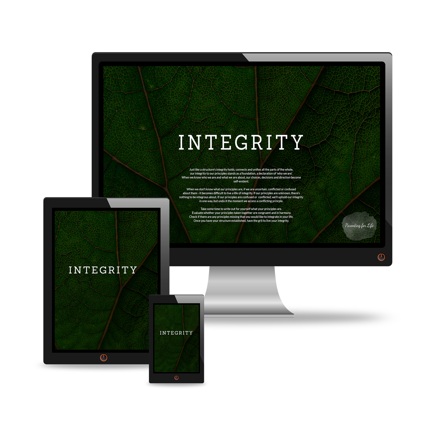 Integrity Wallpaper Parenting For Life