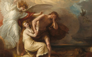 Adam and Eve Expulsion by Benjamin West
